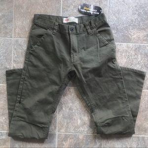 Levi's Slim Fit Cordura Green Pants Youth 28x28